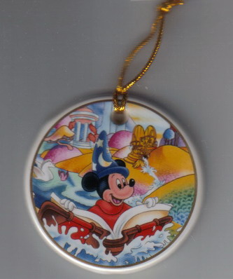 Disney Mickey Sorcerer Porcelain ornament