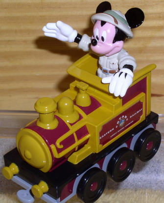 Disney Mickey Train Engineer Die Cast Metal Eastern RW