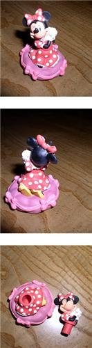 Disney Minnie Mouse sugar bowl miniature