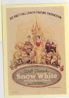 Disney Movie Snow White poster