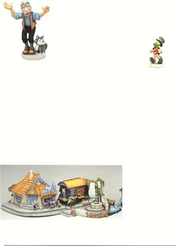 Disney Pinocchio Goebel Miniatures Cheap