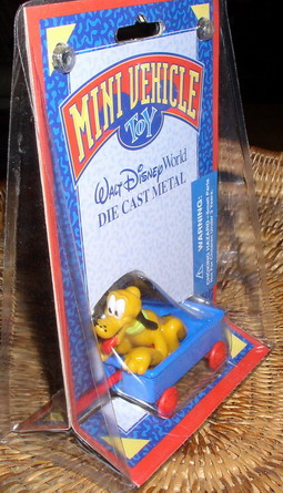 Disney Pluto Train ride Car Magic Kingdom Mint