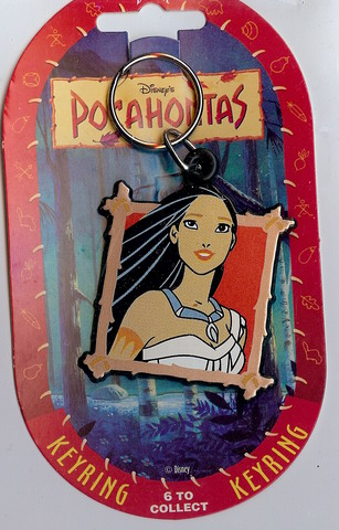 Disney Pocahontas Key Chain mint never used Rare