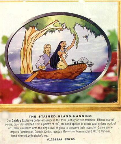 Disney Pocahontas Stained Glass Art Cheap!