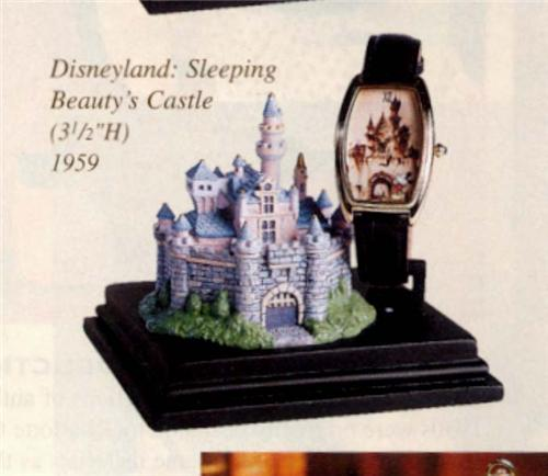 Disney Sleeping Beauty  Castle & watch Rare