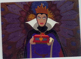 Disney Snow White & 7 Dwarfs Evil Queen with box