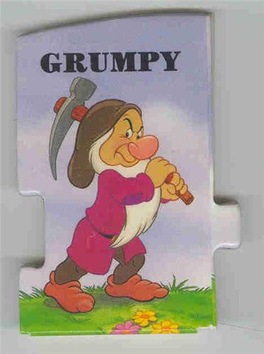 Disney Snow White & 7 Dwarfs Grumpy Book