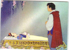 Disney Snow White & 7 Prince finding her in death