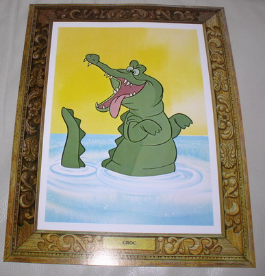 Disney The Croc  from Movie  Peter Pan Lobby Card