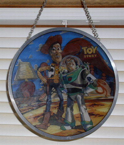 Disney Toy Story  Rare Stained Glass