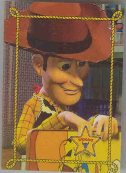 Disney Toy Story  Woody with badge