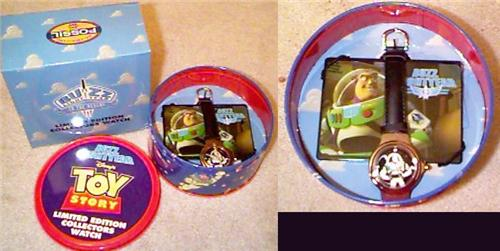 Disney Toy Story 1 Buzz  Lt. Ed. Watch
