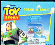 Disney Toy Story 1 Buzz Lightyear Color a Bank