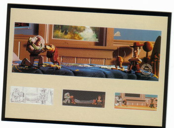 Disney Toy Story Print Never Sold