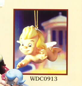 Disney WDCC Cupid Flight of Fancy Fantasia with stand