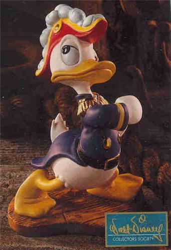 Disney WDCC Donald Duck as Admiral Duck Promotional
