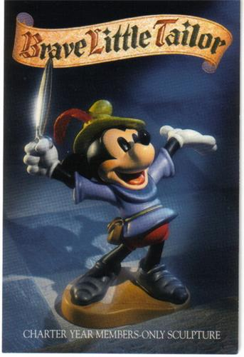 Disney WDCC Mickey Mouse Brave Little Tailor Print