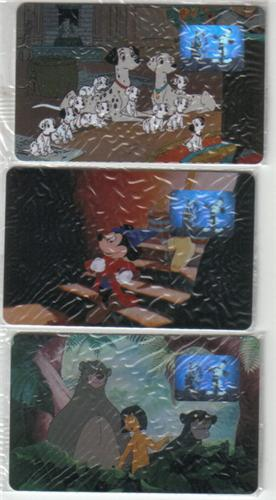 Disney WDCC Movie set Phone Cards Sorcerer Mickey