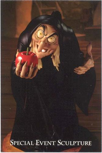 Disney WDCC Snow White Hag with Red Apple
