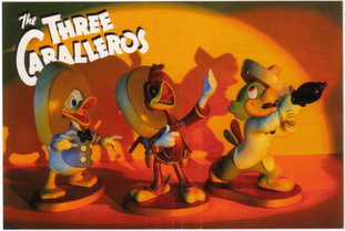 Disney WDCC The Three Caballeros Promotional Never Sold