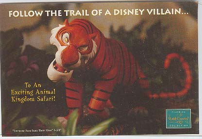 Disney WDCC Villain Shere Kan Tiger Cheap never sold