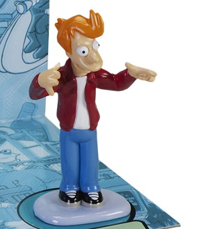 Futurama DieCast Metal Fry 3 in. Heavy Weight New HTF