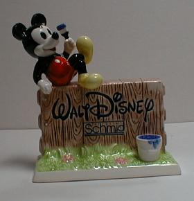 Mickey Mouse WD Signature Schmid Dealer Display