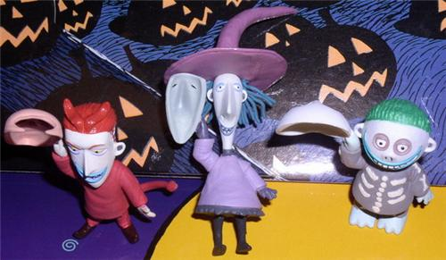 Nightmare Be4 Christmas  LSB Card Figures
