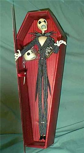 Nightmare Be4 Christmas Jack Red Coffin Doll 2 faces