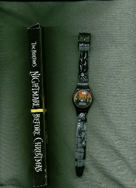 Nightmare Before Christmas Pomo Jack Watch