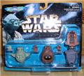 Star Wars 3 Micro Machines collection III 1996 MOC