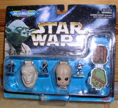 Star Wars 3 Micro Machines collection IV 1996 MOC
