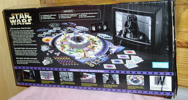 Star Wars Interactive  Video Board Game rare