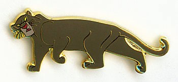 Disney Bagheera panther Jungle Book full body pin/pins