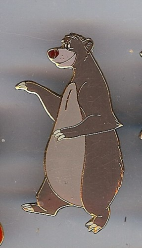Disney Baloo Bear Jungle Book  full body pin/pins