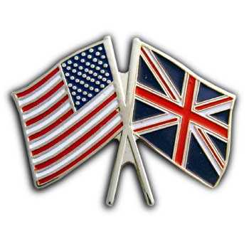 2 Flag USA & Israel  Lapel  Pin/Pins  Badge