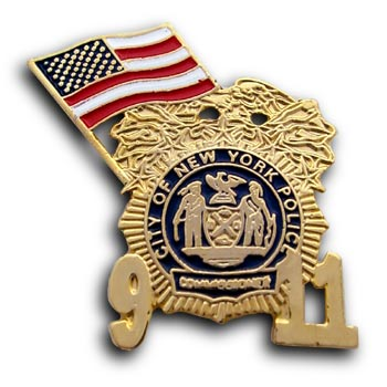 9/11  Gold Lapel USA Flag badge Pin/Pins Badge
