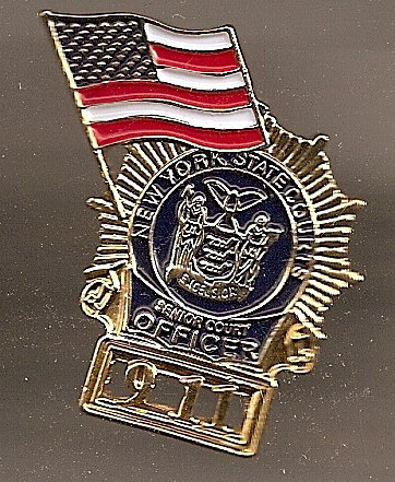 9/11 Court Officer New York Commemorative pin Lapel Pin/Pins Badge
