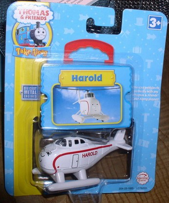 Thomas & Friends Harold  take along helicopter die-cast Metal