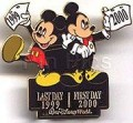 Disney WDW - Last Day/First Day New Year  pin/pins