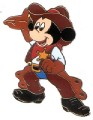 Disney Mickey Cowboy pin/pins