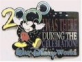 Disney WDW - I Was There 2000 (Black)  pin/pins