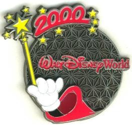 Disney  Spaceship Earth  - 2000  pin/pins