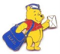 Disneyland Winnie Mail Carrie Mailman Pin/Pins