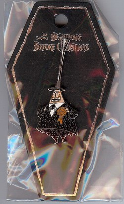 Disney Nightmare Before Christmas Mayor coffin pin/pins