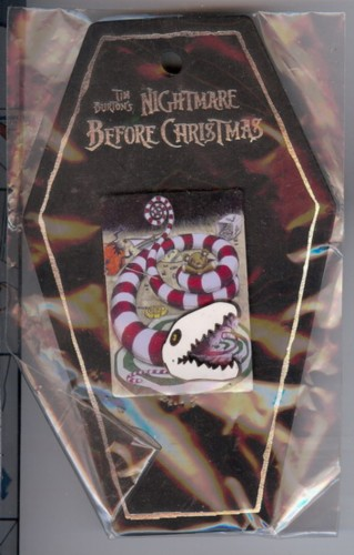 Disney Haunted Mansion Holiday Candy Snake  pin/pins