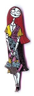 Disney Nightmare Before Christmas Sally coffin pin/pins