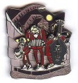 Disney Nightmare Before Christmas Band/Vampire 3D  Pin
