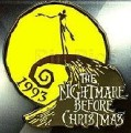 Disney Nightmare Before Christmas logo  pin/pins