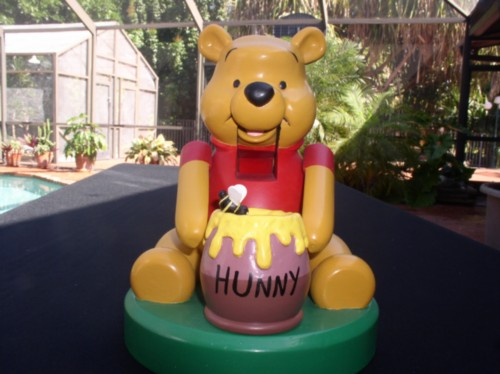 Disney Winnie the Pooh  Nutcracker made of wood